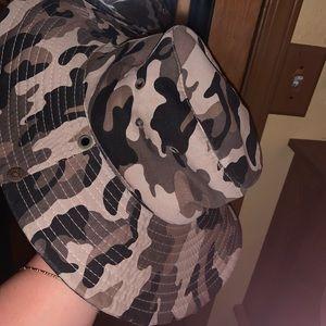 Camo Bucket/Hunting hat